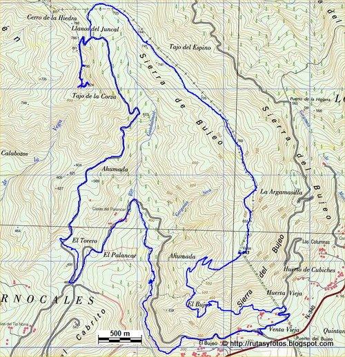 Rio Guadalmesí - Tajo de las Escobas