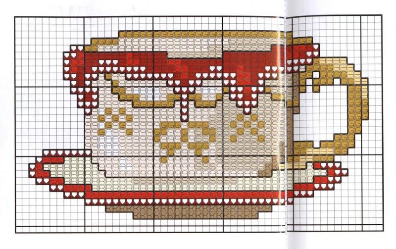 На кухню - схемы вышивки крестом скачать бесплатно, xsd 62