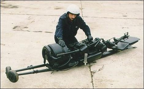 المروحية المحمولة Portable Helicopter