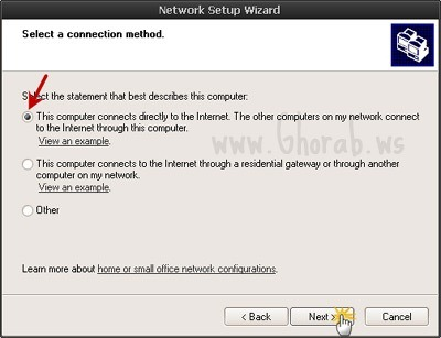 w595 Network Connection Method