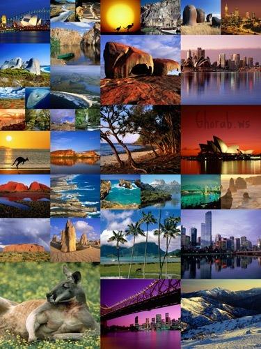 صور و خلفيات طبيعية من استراليا