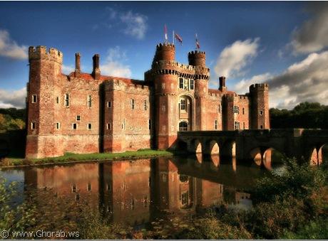 قلعة Herstmonceux, انجلترا
