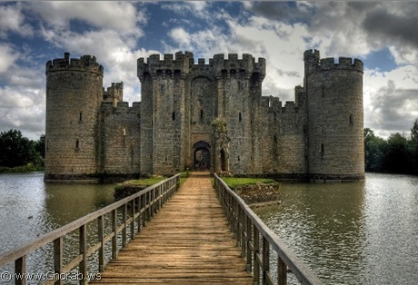 قلعة بوديام - Bodiam Castle, انجلترا