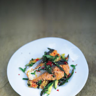 Salmon Couscous With Vegetables Recipes
