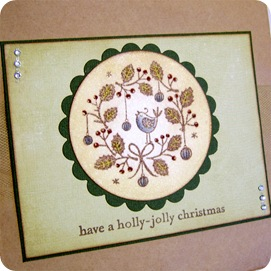 cul - noel paper bag card back