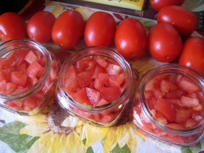Jar Tomatoes