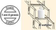 Qualitá e garanzia delle scale retrattili Estfeller