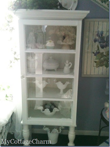 My Cottage Charm: How to build a Cabinet with an old window ...