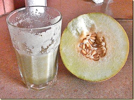SMoothie ja meloni