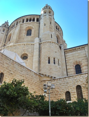 Dormition church, Hagia Maria Sion Abbey