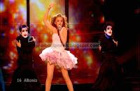 Kejsi Tola Albania Eurovision 2009 Semifinal