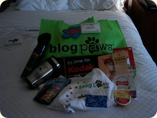 Blogpaw goodies