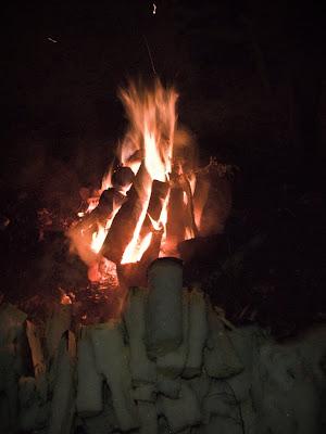 Вогник і дрова