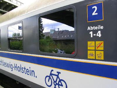 Велосипед і потяг
