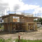 Det ligner nu endnu mere det hus, som vi har forestillet og tegnet.