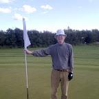 Den stolte golfspiller!