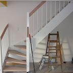 Den fine nye trappe!