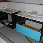 Dobbelt håndvaske på badeværelset 1. sal