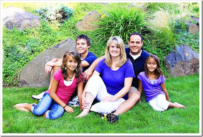 Jason Summer family PRINT 8x12