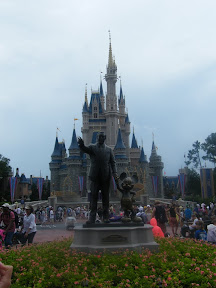 Estatua de Walt Disney