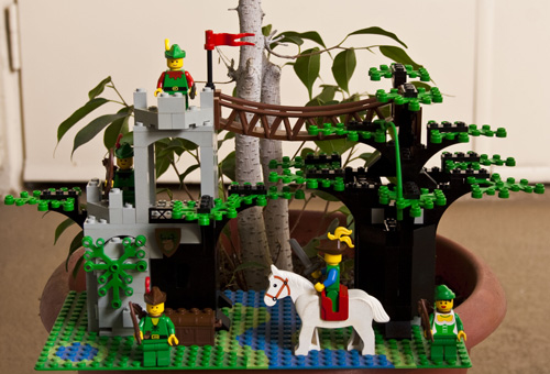 LEGO Forestmen's Crossing