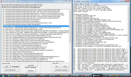 escaneo y archivo de texto