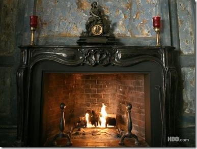 Bill's fireplace