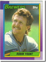 Robin Yount Topps 90
