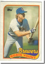 Robin Yount 89 Topps