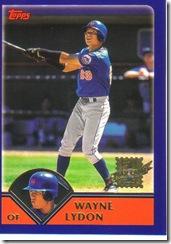 Card 5 Wayne Lydon