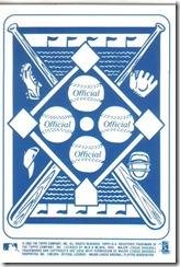 Card 17 Jeff Bagwell Insert Back