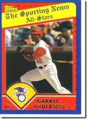 Card 20 Garret Anderson