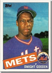 Dwight Gooden Rookie