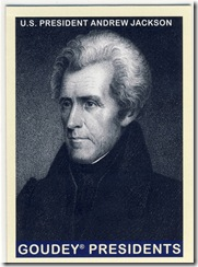 Jackson Goudey Presidents