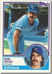 Don Hood Topps 83