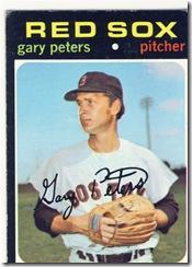 Topps 71 Gary Peters