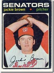 Topps 71 Jackie Brown