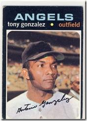 Topps 71 Tony Gonzalez