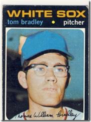 Topps 71 Tom Bradley