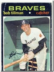 Topps 71 Bob Tilman