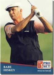 PGA 1 Babe Hiskey