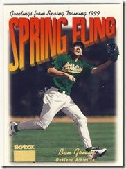 Skybox Spring Fling Ben Grieve