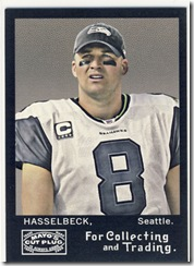 Mayo Quarterback Hasselbeck