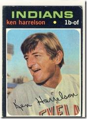1971 510 Ken Harrelson