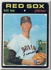 1971 58 Bill Lee