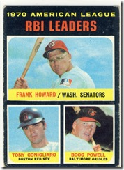 1971 63 RBI Leaders