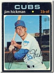 1971 175 Jim Hickman