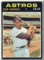 1971 222 Bob Watson