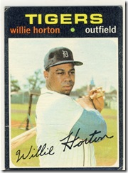 1971 120 Willie Horton