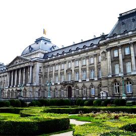 Palais Royal de Bruxelles by Sudipto Chakraborty - Buildings & Architecture Statues & Monuments